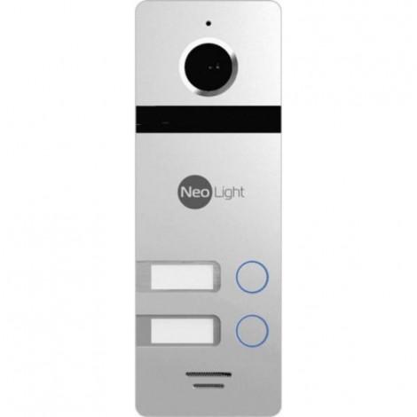 Вызывная панель NeoLight MEGA/2 Silver