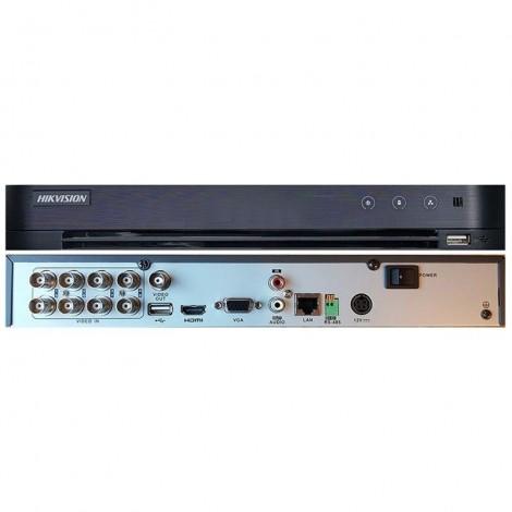 8-канальный Turbo HD видеорегистратор Hikvision DS-7208HQHI-K1