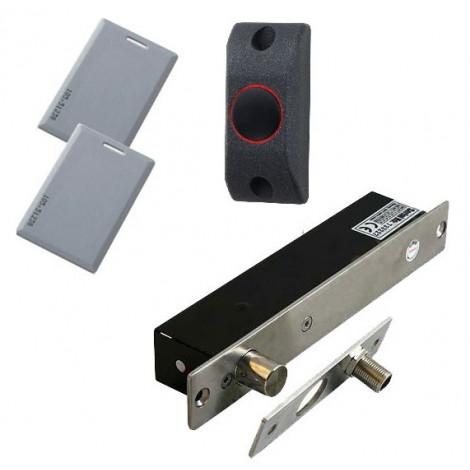 Электрический ригельный замок AB700A на карточках