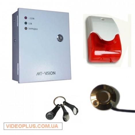Cигнализация с контролем входной двери GSM