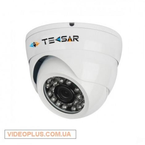 Видеокамера AHD купольная Tecsar AHDD-1Mp-20FI-out-eco