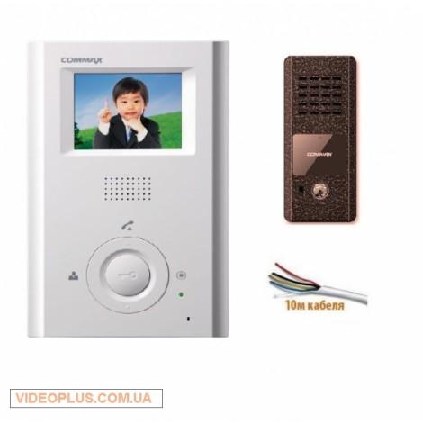 Комплект цветного видеодомофона Commax CDV-35h