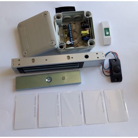 Электромагнитный замок на карточках на входную дверь