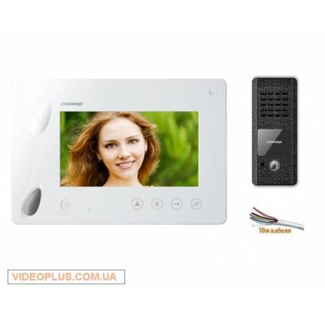 Комплект цветного видеодомофона Commax CDV-70P