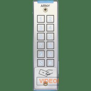 Кодовая клавиатура со считывателем проксимити карт ARNY AKP-132RF