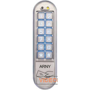 Кодовая клавиатура со считывателем проксимити карт ARNY AKP-162RF