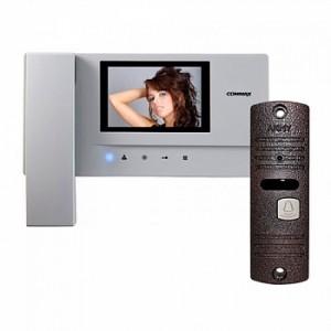 Комплект цветного видеодомофона Commax CDV-35A+AVP-05