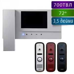 Комплект цветного видеодомофона Commax CDV-35A+AVP-NG110