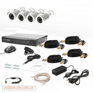 Комплект видеонаблюдения Tecsar 4OUT LUX