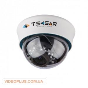 Видеокамера AHD купольная Tecsar AHDD-2Mр-20VFI-in
