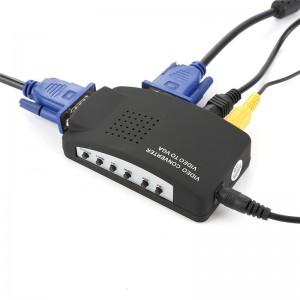 Адаптер преобразователь VGA-AV