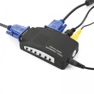 Адептер преобразователь AV-VGA