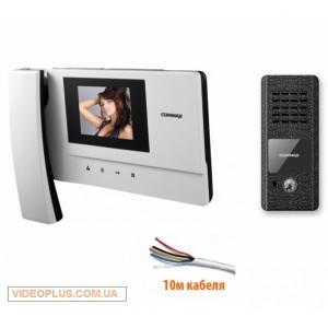 Комплект цветного видеодомофона Commax CDV-35A