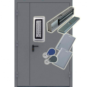 Кодовый магнитный замок на подъездную дверь